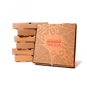 Коробки для пиццы с логотипом