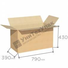 Картонная коробка 790*390*430 мм Т-24 бурая