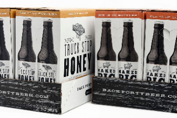 Упаковка для пива Back Forty Beer Company's